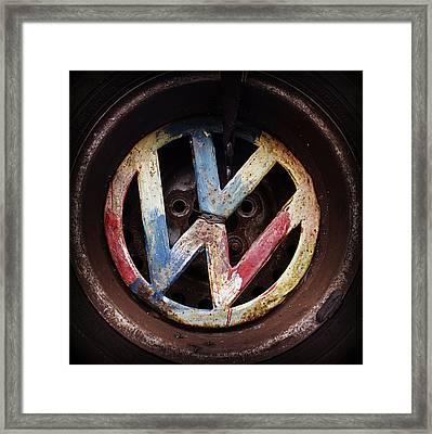 VW Framed Print by Joseph Skompski