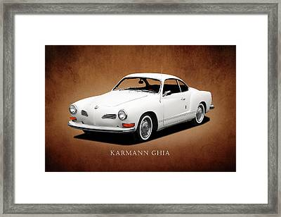 Vw Karmann Ghia Framed Print