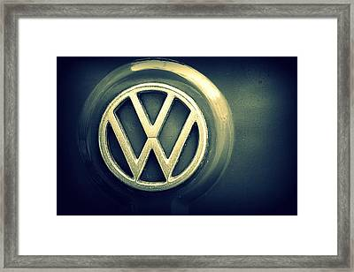Vw Thing Emblem Framed Print by Joseph Skompski