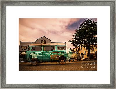 Vw Time Warp Framed Print by Tony Campbell