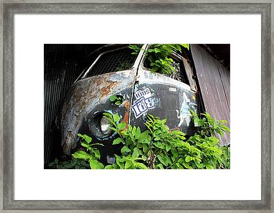 Vw Van Wall Framed Print