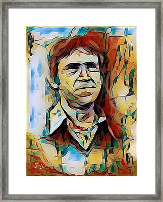 Vysotsky Vladimir Singer-songwriter Framed Print