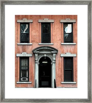 W 53rd New York Framed Print by Paul Gaj