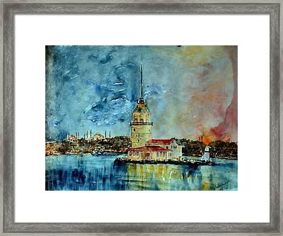 W 57 Istanbul Framed Print by Dogan Soysal