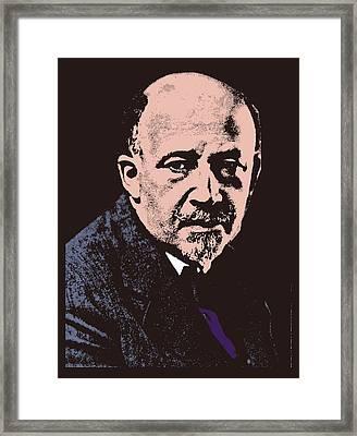 W. E. B. Du Bois Framed Print by Otis Porritt