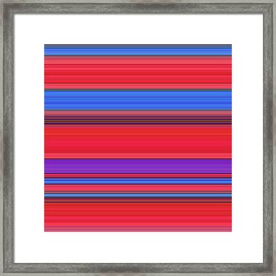 W E D - Tape Framed Print
