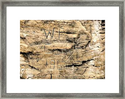 W F Cody Framed Print by Jon Burch Photography