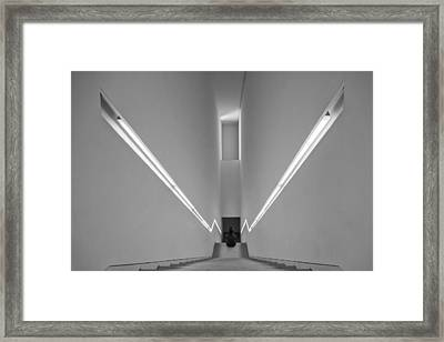 W Framed Print by Luis Sarmento