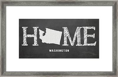 Wa Home Framed Print