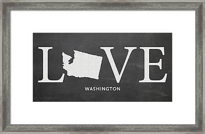 Wa Love Framed Print