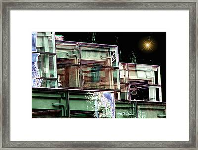 Wa State Convention And Trade Center Framed Print by Tim Allen