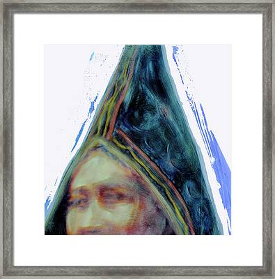 Framed Print featuring the painting Wabanaki by FeatherStone Studio Julie A Miller