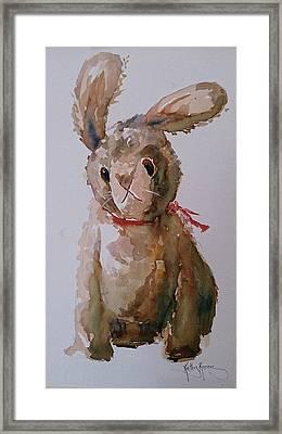 Wabbit Framed Print by Kathy  Karas