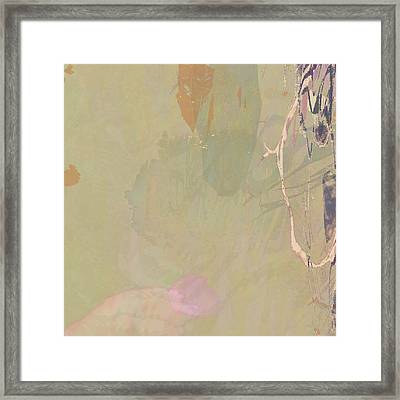 Wabi Sabi Ikebana Revisited Shabby 2 Framed Print