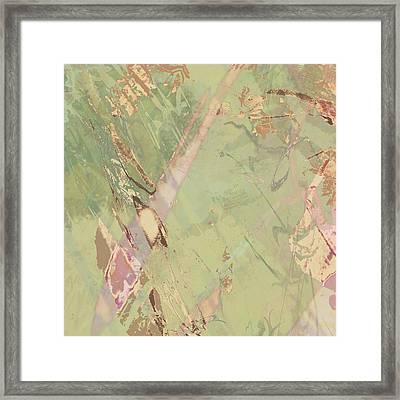 Wabi Sabi Ikebana Revisited Shabby 3 Framed Print