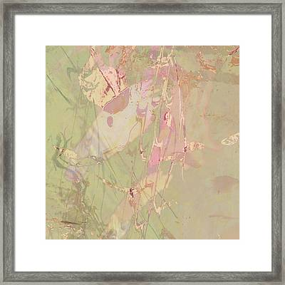 Wabi Sabi Ikebana Revisited Shabby 4 Framed Print