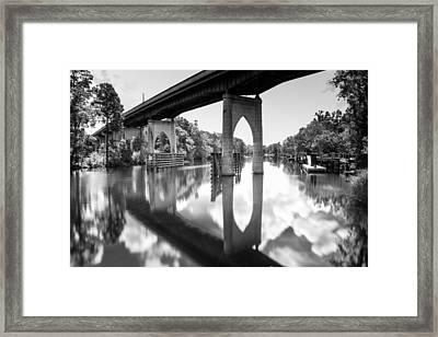 Waccamaw River Memorial Bridge Framed Print