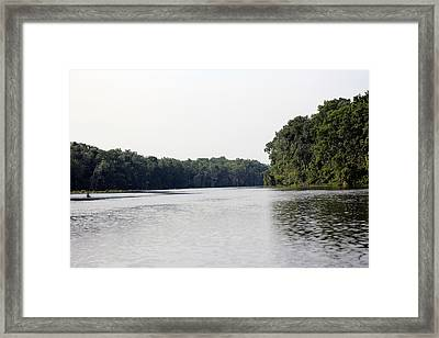 Wacissa The Grand Framed Print