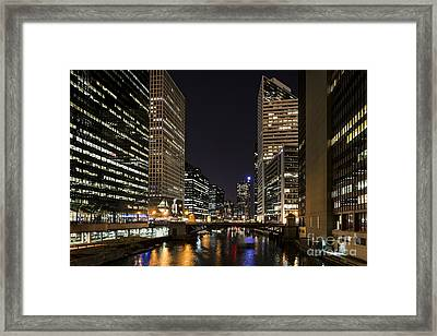Wacker Avenue Framed Print by Andrea Silies