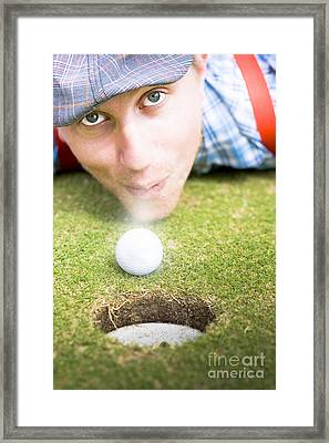 Wacky Golf Framed Print by Jorgo Photography - Wall Art Gallery