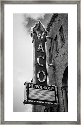 Waco Hippodrome - #2 Framed Print