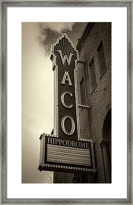 Waco Hippodrome - #3 Framed Print