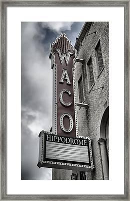 Waco Hippodrome - #4 Framed Print by Stephen Stookey