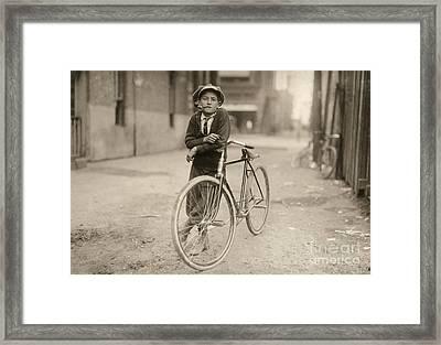 Waco: Messenger, 1913 Framed Print by Granger