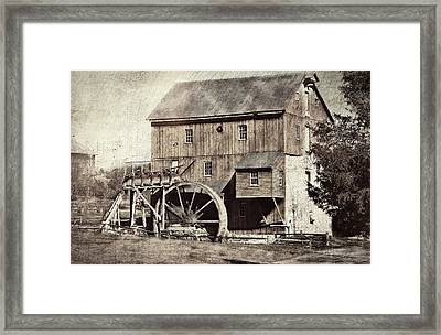 Wade's Mill Series II Framed Print by Kathy Jennings