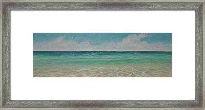 Wading  By Alan Zawacki Framed Print