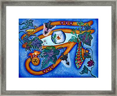 Wadjet Eye Framed Print