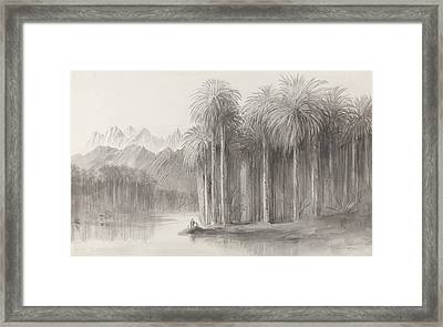 Wady Feiran, Peninsula Of Mt. Sinai Framed Print