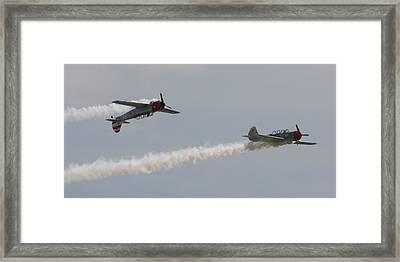 Wafb 09 Yak 52 Aerostar 6 Framed Print by David Dunham