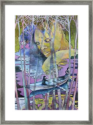 Wager With Spiritual Healers Framed Print by James Huntley