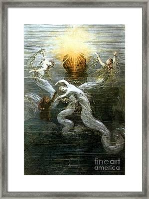Wagner: Das Rheingold Framed Print by Granger