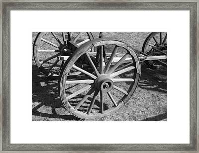 Framed Print featuring the photograph Wagon by Perspective Imagery