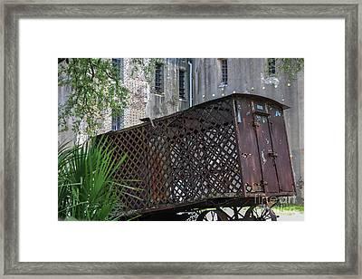 Jail House Wagon  Framed Print