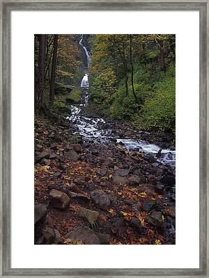 Wahkeena Falls Framed Print