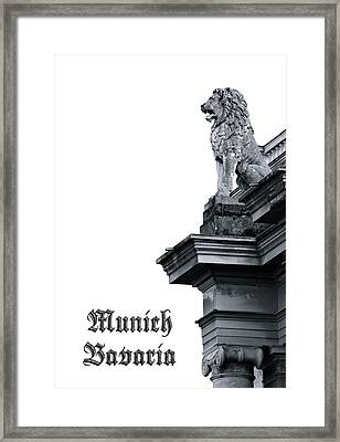 Wahrzeichen Framed Print