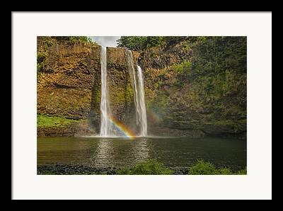 Double Rainbow Framed Prints