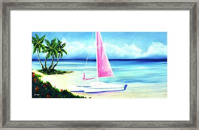 Waimanalo Beach #187 Framed Print by Donald k Hall