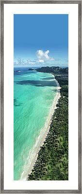 Waimanalo Bliss Framed Print