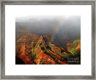 Waimea Canyon I Framed Print