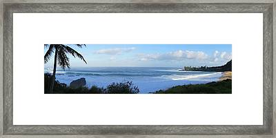 Waimea Morning Framed Print