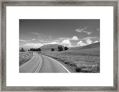 Waimea Ranchland Framed Print