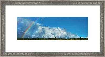 Waimea Wind Fans Framed Print
