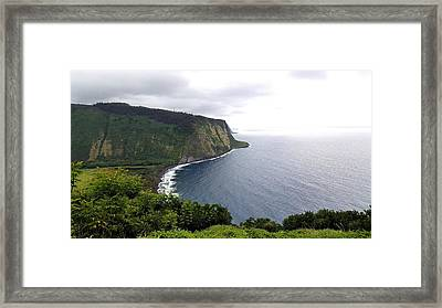 Waipio Valley Framed Print