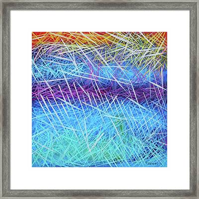 Wait By The River Framed Print