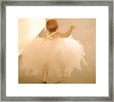Wait For Me Framed Print