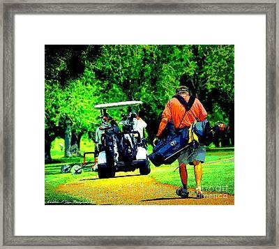 Wait For Me... Framed Print